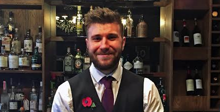Rockliffe barman shortlisted for 'Perfectionists Cocktail Creation Award'