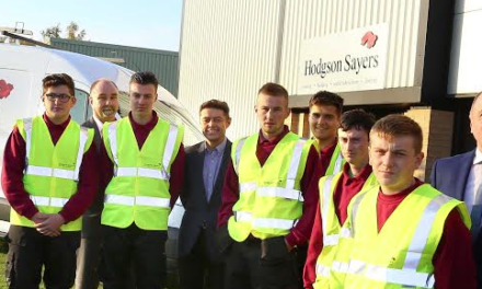 Paths are paved as new apprentices join expanding team