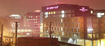 New Milestone for Crowne Plaza as Hotel prepares for Christmas