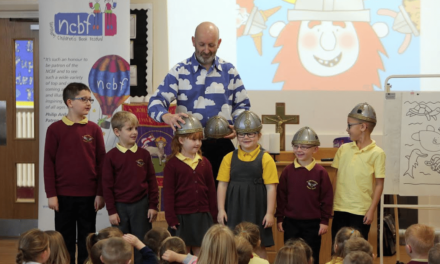 Nick Sharratt gets Creative with Stockton Schoolchildren
