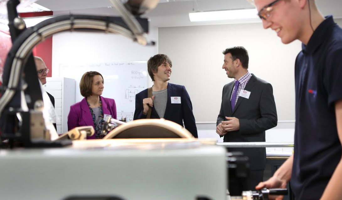 New £20m skills centre should be replicated across the UK says Pro Brian Cox