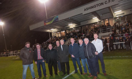 Ashington Football Club unveil new facilities