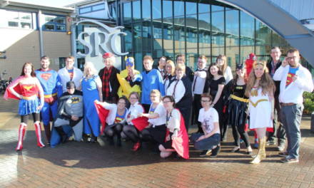 Heroes join forces for Children in Need