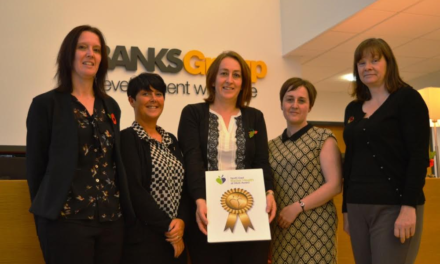Banks Group's County Durham Staff enjoying 'Better Health at Work' through Award Success