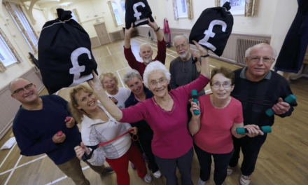Cash Boost Helps Keep Fit Class
