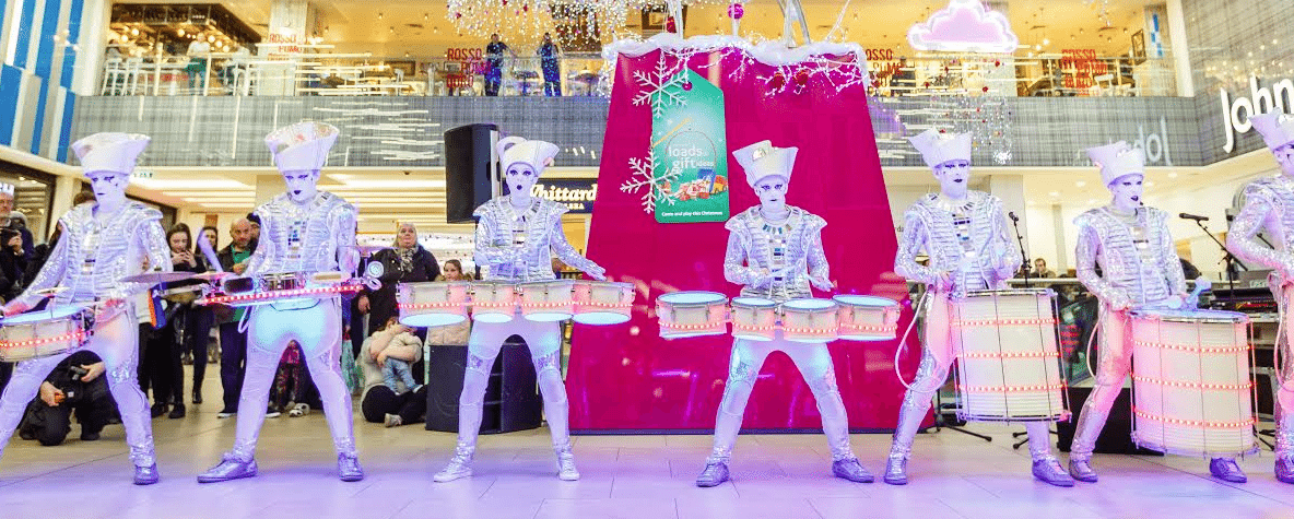Launch of Christmas at intu Eldon Square