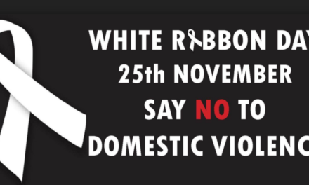 City Supporting White Ribbon Day (25 Nov)