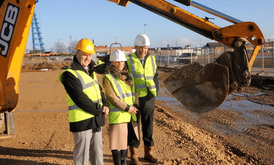 Work under way on Pioneer Homes Project at Middlehaven