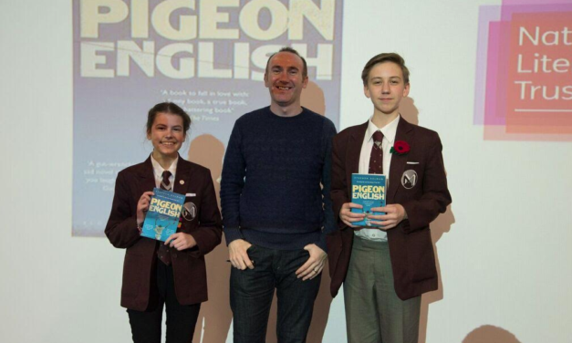 Man Booker Prize-shortlisted author, Stephen Kelman's visits Middlesbrough Reading Campaign