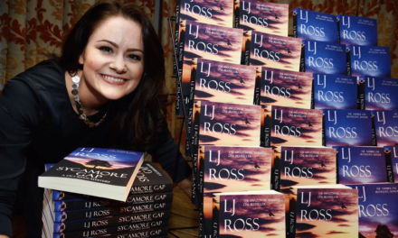 Crime author LJ Ross launches Sycamore Gap in paperback