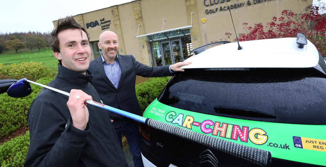 Car-Ching teeing off with Car Sponsorship for Golf Pro Tim