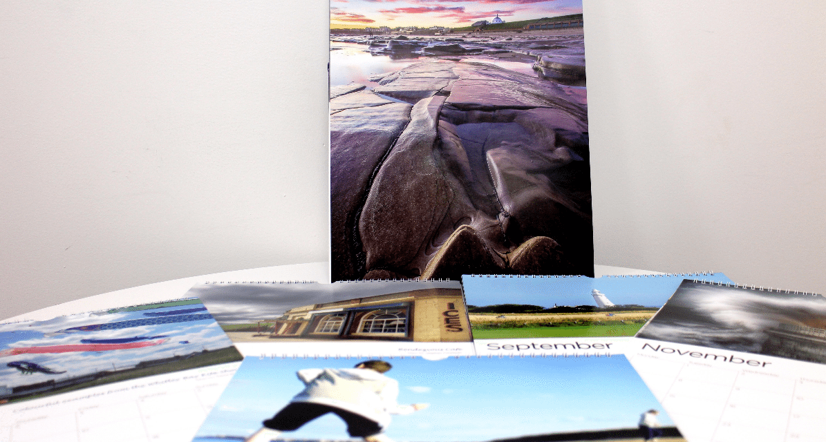 Whitley Bay Calendar Showcases the Talents of Local Residents