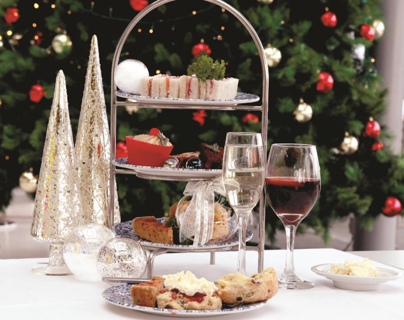 Stepping in to Christmas with Sandwiches and Scones