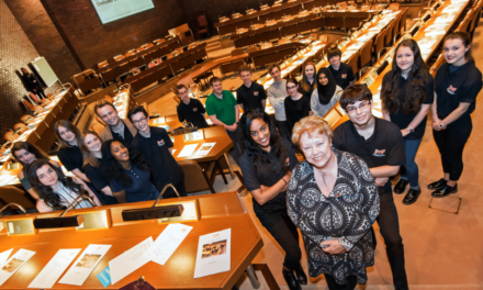 One Direction in Council Chamber