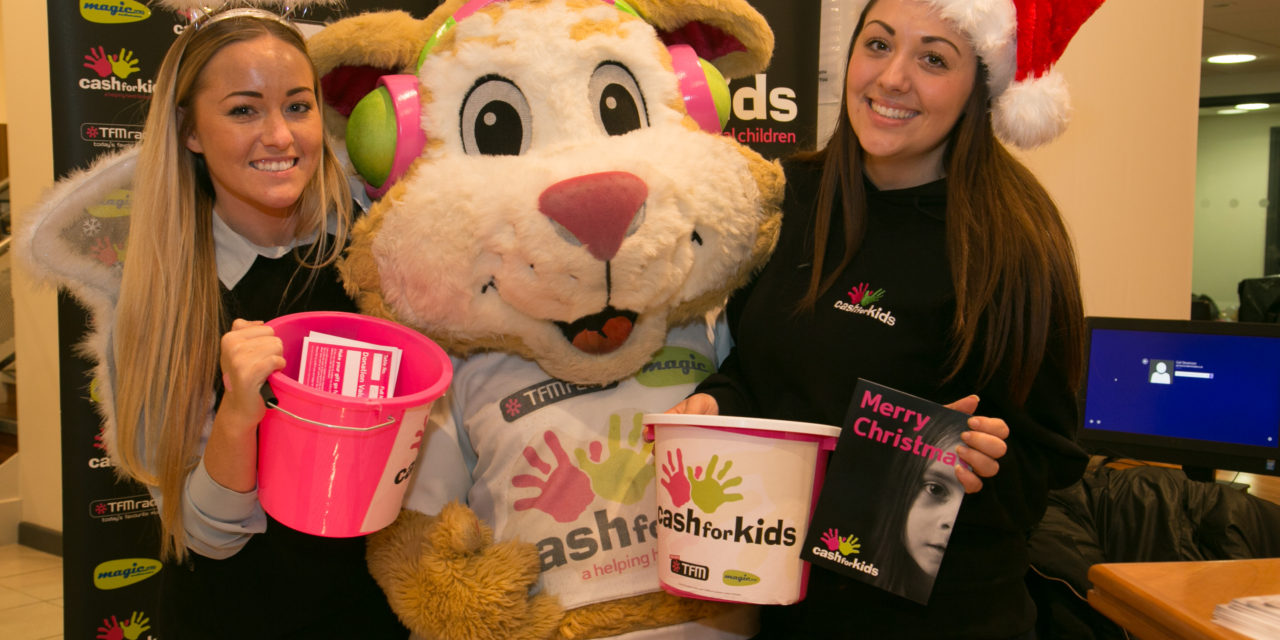Simon Bailes supports festive toy appeal to help needy children