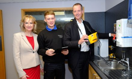 First SSI Apprentice finds new job backed by Taskforce funding