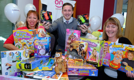 Darlington Building Society supports TFM Christmas appeal