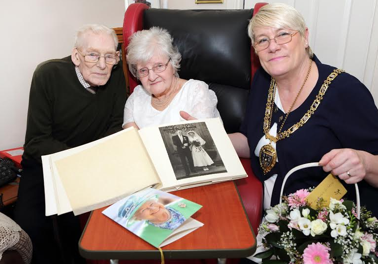 Diamond Day for Stanley Couple