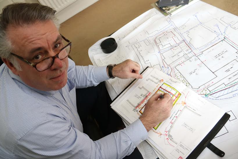 From blank page to multi-million pound development