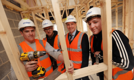Miller Homes builds its future workforce