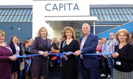 Flagship offices opened by Darlington MP