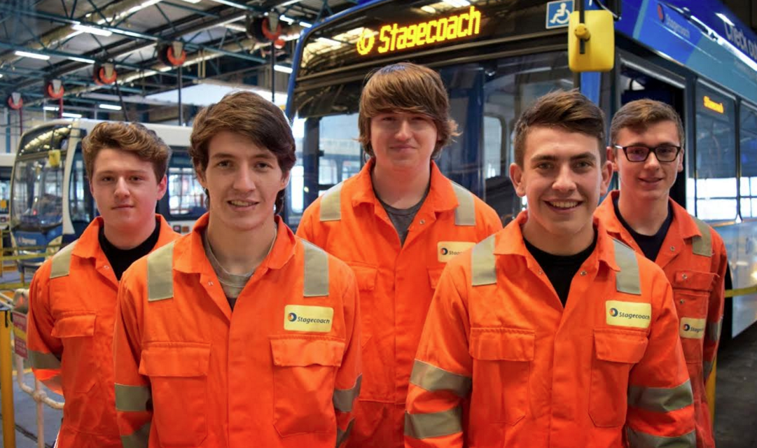 Apprentices takes first step towards a Career in Engineering