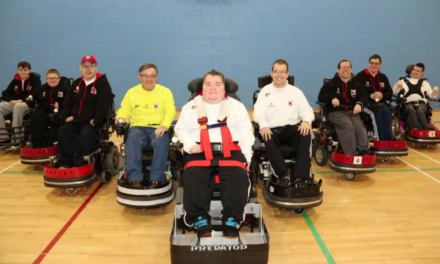 Power chair football team to tackle premiership Everton