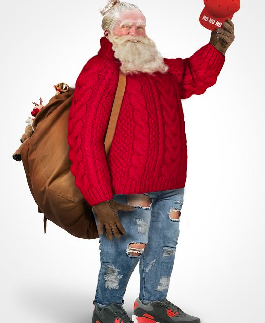 Modern day Santa from Google Trends