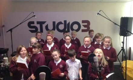 Cramlington youngsters sing out for Christmas
