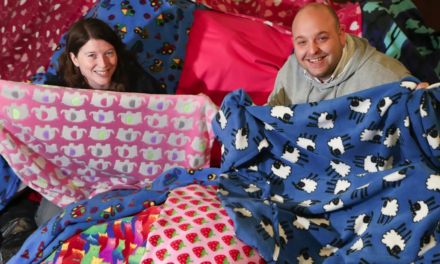 Onesie blankets helping Tyneside's rough sleepers
