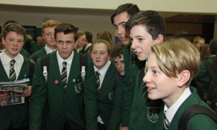 Academy hosts first ever careers fair for hundreds of students