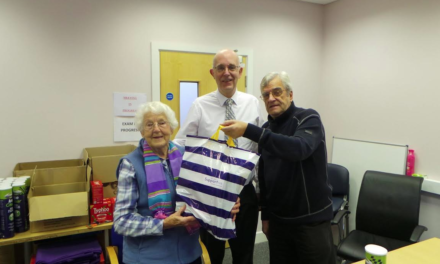 The Social Resource Centre delivers Christmas cheer to the elderly
