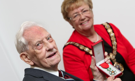 Two war veterans recognised for outstanding service