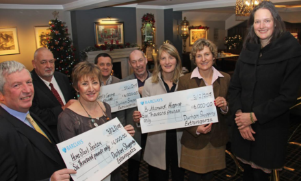 Charities receive £18K from shopping extravaganza