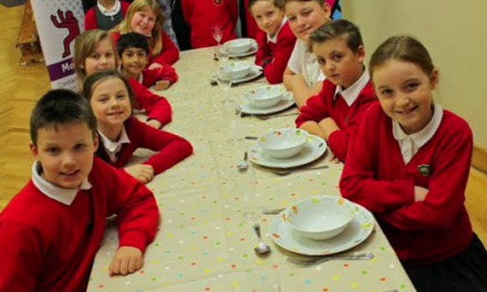 Pupils prove they are hungry for change