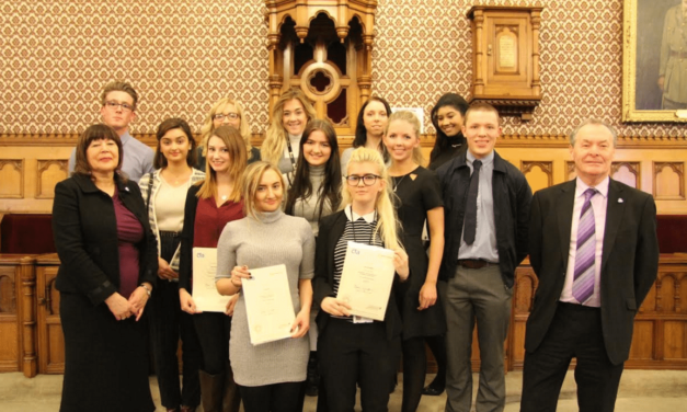 Apprentices Celebrated at Town Hall Ceremony