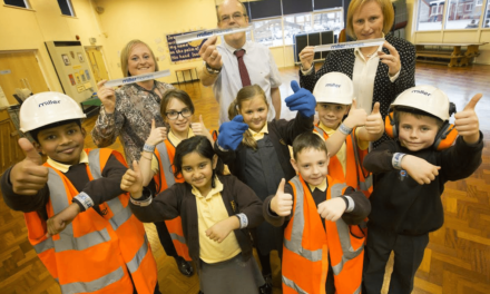 Miller Homes helps North East Children achieve top marks for Health & Safety