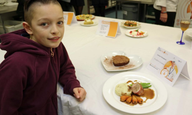 Too young chef qualifies for final