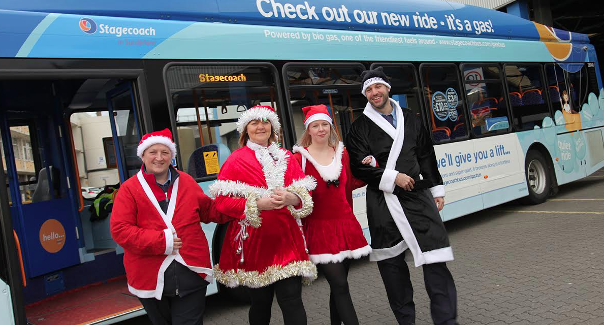 Santas take to the Road for Charity