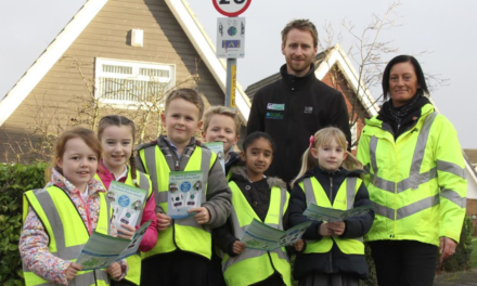 New Walking Zone keeps Youngsters Active and Safe