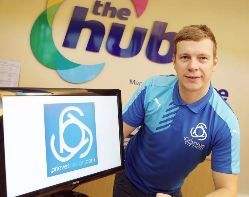 Design agency grows business at The Hub