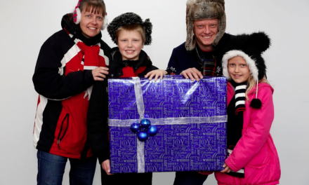 Sunderland Family are Christmas VIPs