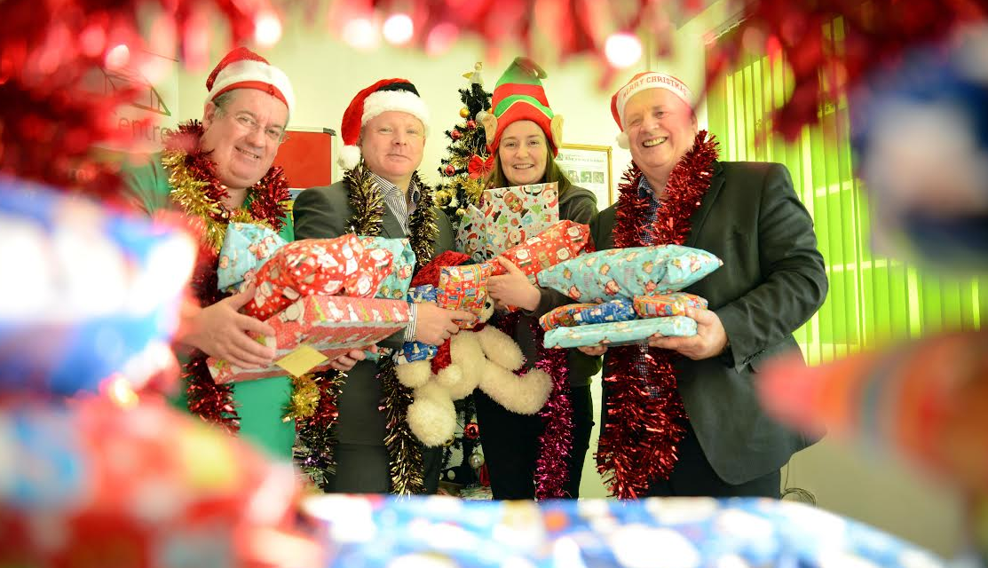 Spreading Christmas cheer in Scotswood