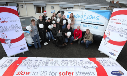 Support service backs 20mph campaign