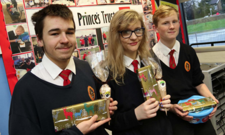 Enterprising students raise cash for charity