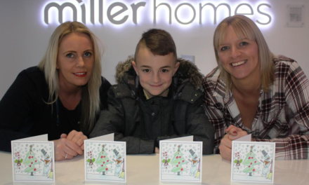 Middlesbrough Youngster helps leading Housebuilder spread Christmas Cheer