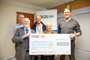 OGN Group donates £1,000 to Action on Dementia Sunderland