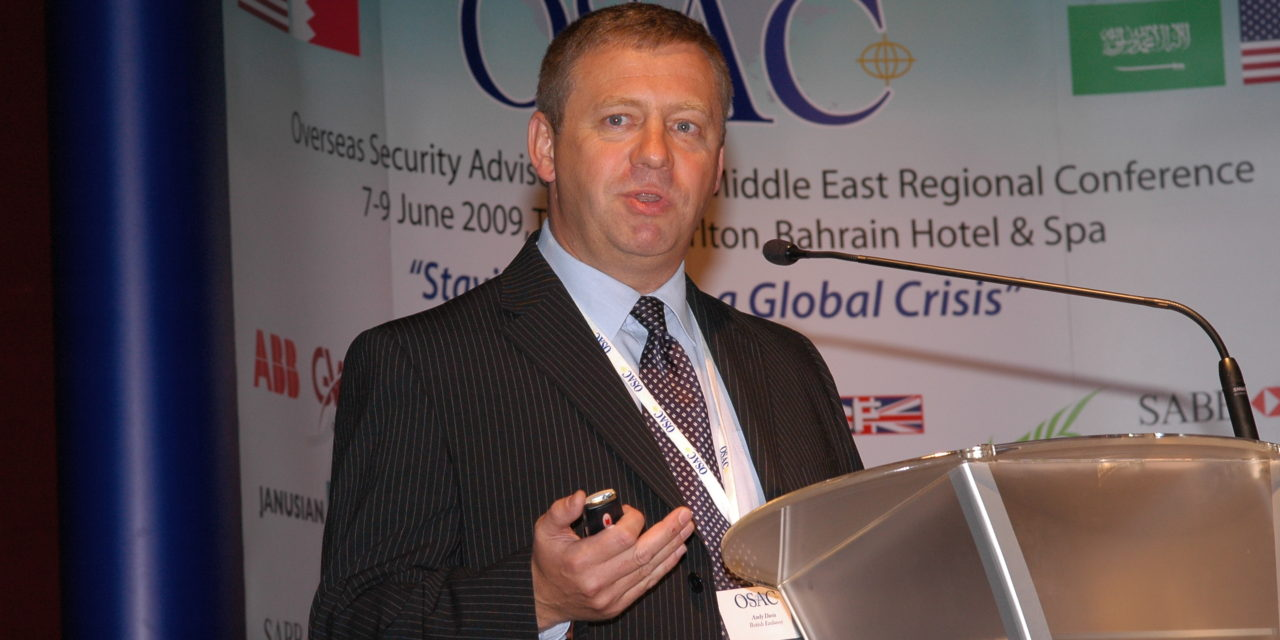 North East security risk management specialist to present at prestigious conference