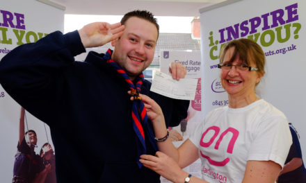 Local building society helps fund Scout trip