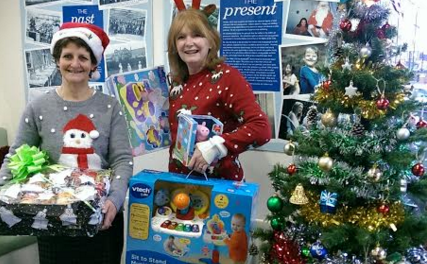 Giving Tree Appeal is huge success and sees donations worth over £30,000